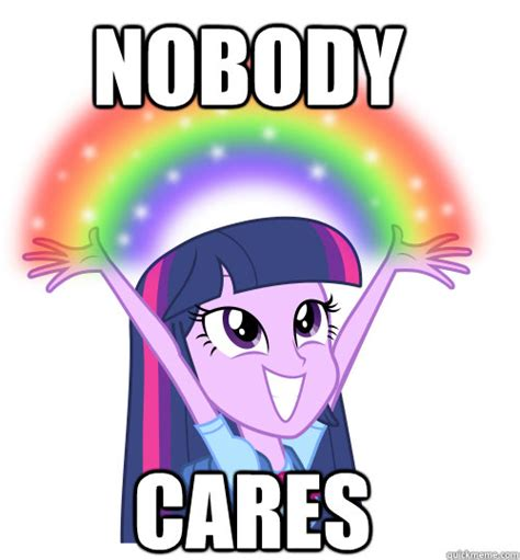 Meme Nobody Cares - nobody cares meme