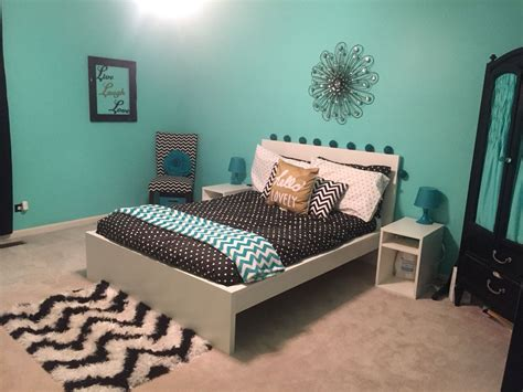 Bedroom Bedroom Ideas With Teal Accents Teal White And