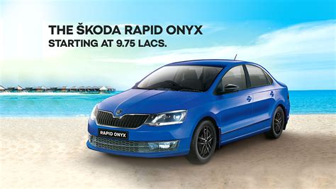 Roll out the Carpet for the New Skoda Rapid Onyx - The Quint