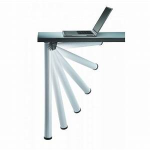 Support Pour Table Rabattable : pied de table pliante click camar bricozor ~ Melissatoandfro.com Idées de Décoration