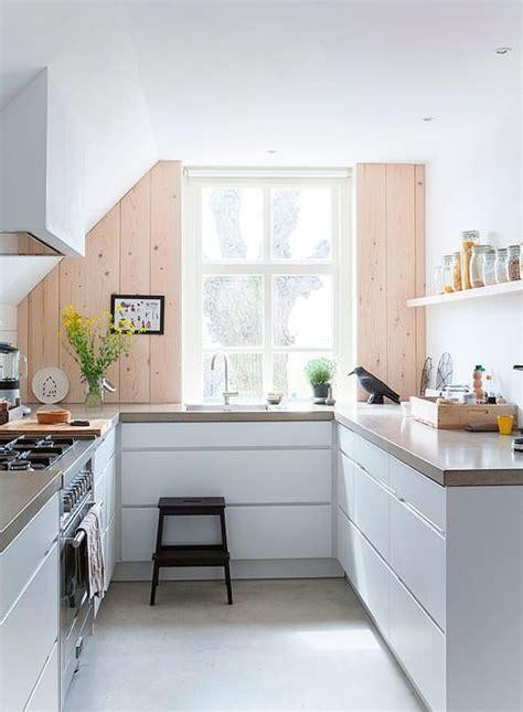 cocinas blancas de todos los estilos luz amplitud  orden