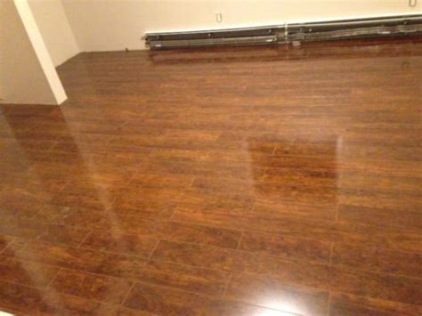 Has my laminate floor been installed wrong?   DoItYourself
