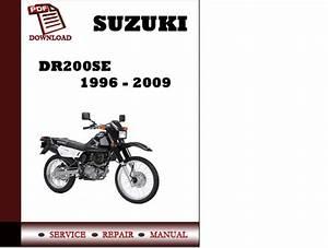Suzuki Dr200se 1996 1997 1998 1999 2000 2001 2002 2003