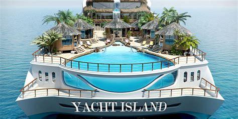 """Yacht Island """"tropical Island Paradise"""""""