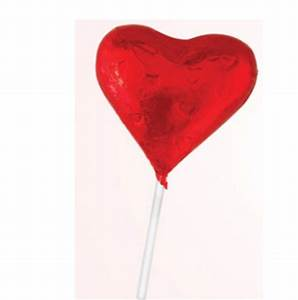 Milk Chocolate Heart Lollies | Gray House Promotions