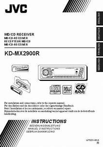 Jvc Kdmx2900r Car Radio Download Manual For Free Now