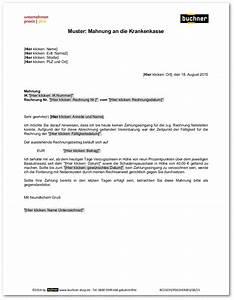 Aok Zahnreinigung Rechnung Einreichen : muster mahnung an die krankenkasse praxisbedarf shop buchner ~ Themetempest.com Abrechnung