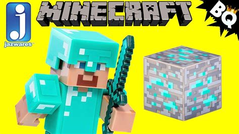 Minecraft Diamond Armor Steve Series 2 Jazwares Review
