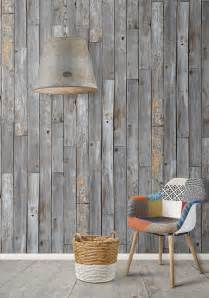 oak livingroom furniture rustic wood panels wallpaper design by milton king burke decor