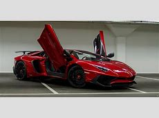 Afrojack's Lamborghini Aventador SV Captured by Bas