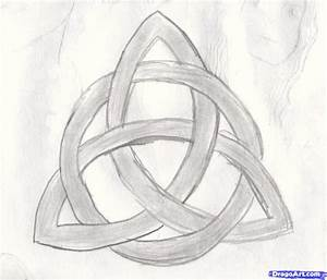 How Draw A Triqutra Circle  Step By Step  Symbols  Pop Culture  Free Online Drawing Tutorial