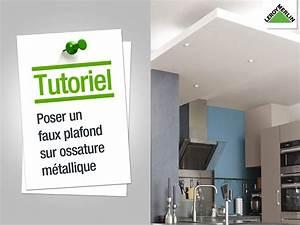 Faire Un Faux Plafond : comment monter un faux plafond 28 images installer un ~ Premium-room.com Idées de Décoration