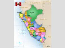 Mapas de Perú Límites en Mapa de Perú