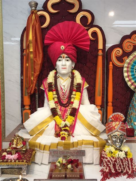 Each night the palanquin rests at selected village on the route shegaon to pandharpur and return. Pin by Shri Gajanan Maharaj Bay Area on Thursday | Fashion ...