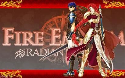 Emblem Fire Background Desktop Radiant Backgrounds Dawn