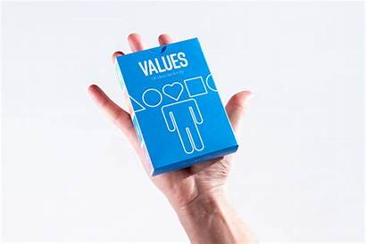 Values Help Better Graphic Each Human Cards