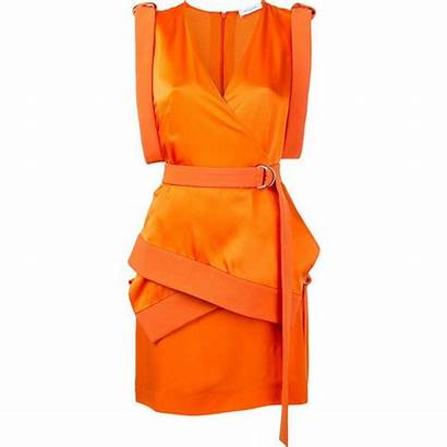 Polyvore Orange Dresses Cocktail Outfits