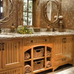 rustic country bathroom ideas rustic bathroom décor ideas for a country style interior kvriver