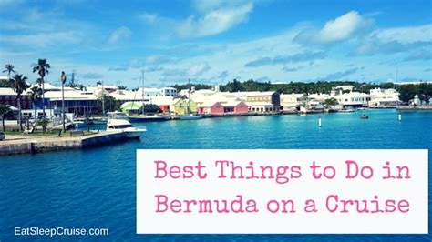 Best Things To Do In Bermuda On A Cruise | EatSleepCruise.com