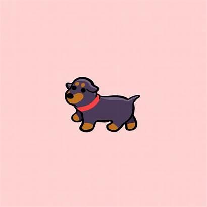 Anime Animals Dog Cartoon Animated Puppy Dogs