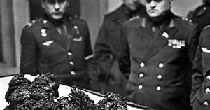 The remains of astronaut Vladimir Komarov, the man who ...