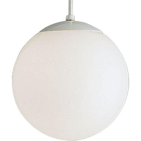 home depot hanging ls sea gull lighting hanging globe 1 light white pendant 6022