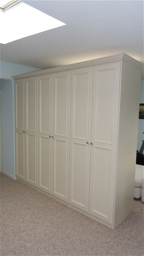 room divider traditional closet new york by andrea
