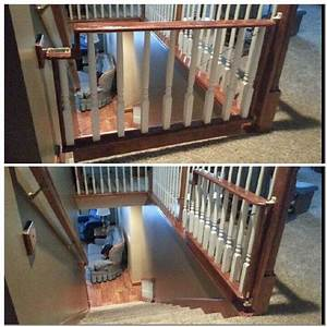 17 best ideas about stair gate on pinterest diy baby With dog gate for stairs