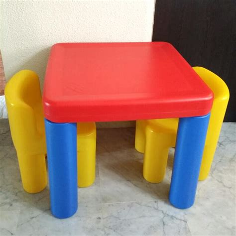 tike table and chairs tikes table and chair set fall home decor