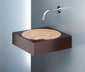 Wasserhahn Aus Der Wand : 26 lavabos de dise o que har n que te quieres lavar las manos aunque las tengas limpias la voz ~ Markanthonyermac.com Haus und Dekorationen