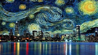Starry Night Desktop Backgrounds Background