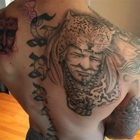 aztec tattoos  men improb