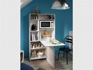Conforama Buffet De Cuisine : meubler un studio 10 meubles malins pour gagner de la place ~ Melissatoandfro.com Idées de Décoration