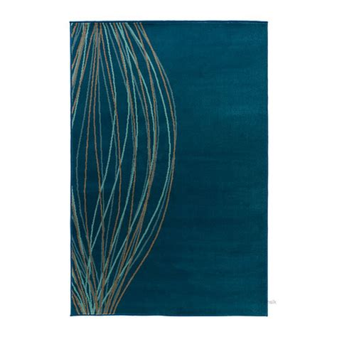 Ikea Teppich Blau by Ikea Malin Blad Turquoise Retro Rug Area Throw Mat Low