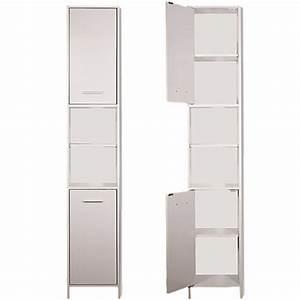 Schrank Regal Weiß : badezimmer hochschrank ~ Orissabook.com Haus und Dekorationen