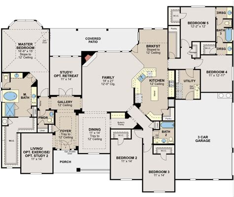 choose    rylands  thoughtfully designed hill country floor plans