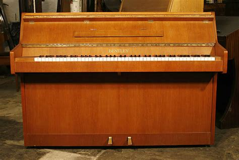 Bentley Upright Piano For Sale With A Walnut Case Modern