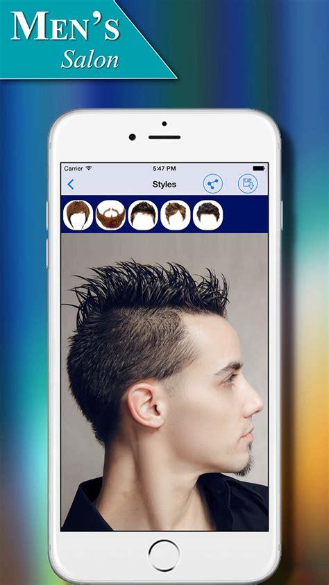 men s salon hairstyles app for ios
