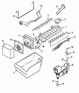 Magic Chef Refrigerator Optional Ice Maker Kit