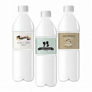 vintage wedding personalized water bottle labels wholesale With cheap water bottle stickers