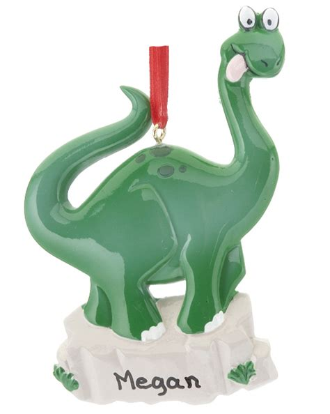 dinosaur personalized ornament