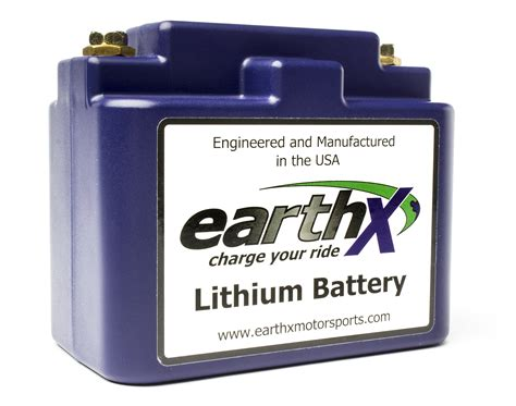 Etx12a Earthx Lithium Battery For Your Powersport Needs