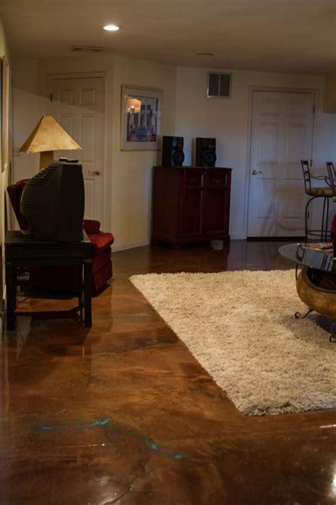 A metallic garage epoxy floor is. An Epoxy Floor with Metallic Brown by CounterTop Epoxy.com - Epoxy Floor Basement