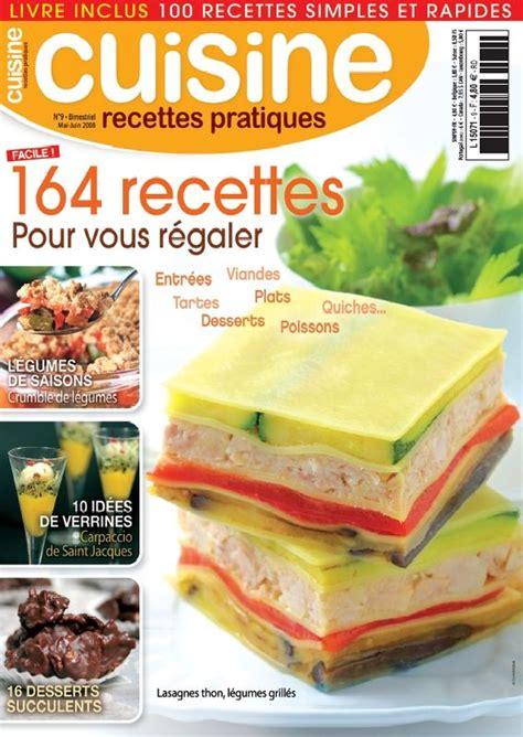 magazine cuisine recettes pratiques
