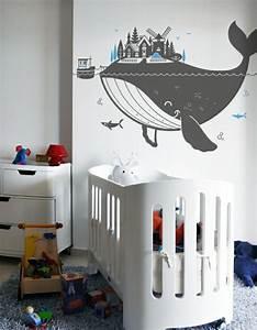 Kinderzimmer Wandgestaltung Ideen : kinderzimmer wandtattoos benutzerdefinierte wandgestaltung kinderzimmer ideen wohndesign ~ Orissabook.com Haus und Dekorationen