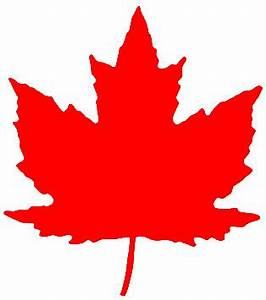 Canadian Maple Leaf Clip Art - ClipArt Best