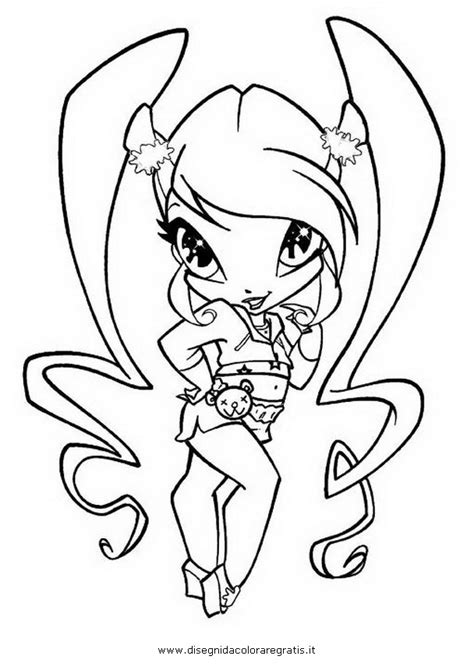 Kleurplaat Poppixie by Pop Pixie Coloring Pages Sketch Coloring Page