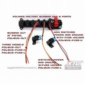 Polaris Ranger Plug  U0026 Play Busbar Adapter By Xtc