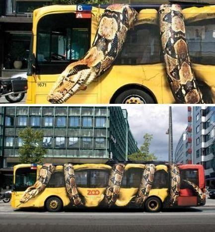 Copenhagen Zoo Bus Wrap