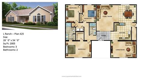 modular home ranch plans